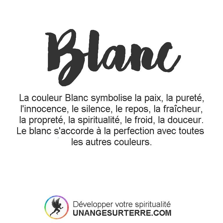 Signification Couleur Blanc (un ange sur terre - unangesurterre.com)