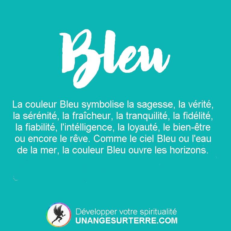 Signification Couleur Bleu (un ange sur terre - unangesurterre.com)